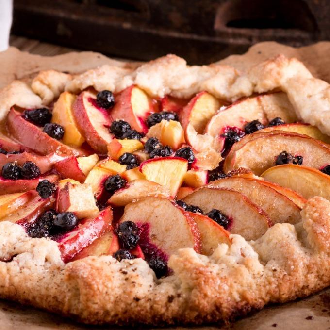 Nudefruit Scrumptious antioxidant blend easy berry flan