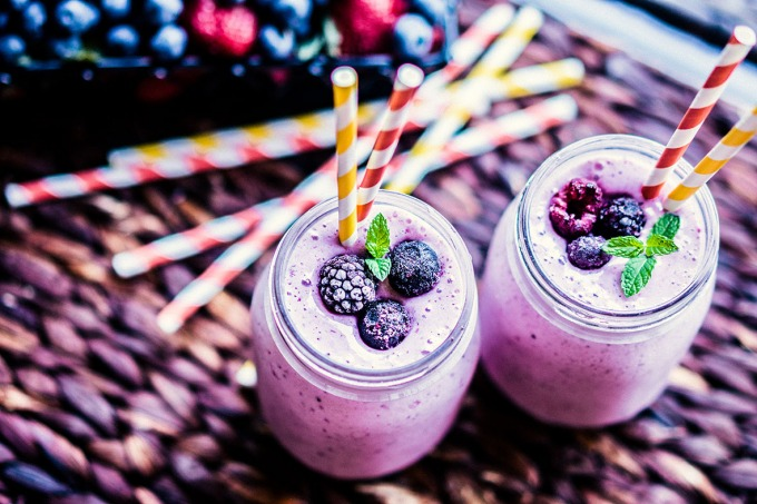Four Berry Smoothie