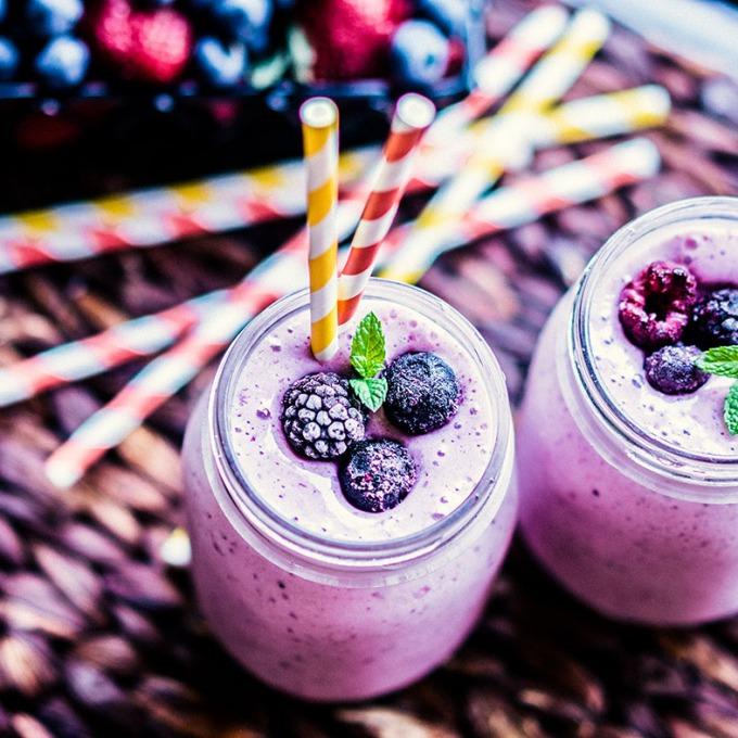 Four Berry Smoothie