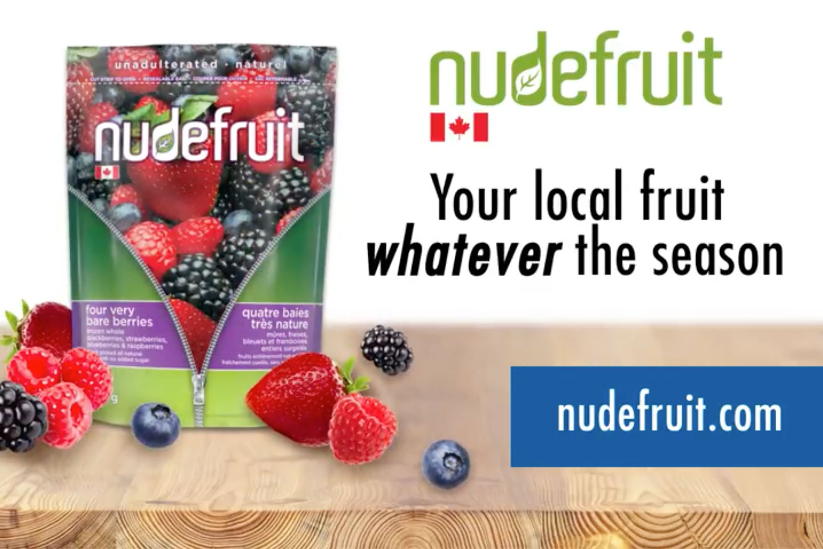 Nudefruit promotional video